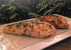 FILETTI DI SALMONE ALLE ERBE – cottura in forno