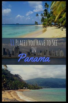 Are you planning to go to Panama? Here I will show you 11 places that you have to see. Panama is an incredibly beautiful country with stunning beaches, beautiful national parks and an amazing wildlife. Some Must-See places are the San Blas Islands, Bocas del Toro or Santa Catalina. No matter if you just like to chill on a beach, you like surfing or hiking in Panama everyone will find something he/she is going to like #travel #panama #centralamerica #sanblas #bocasdeltoro #panamacity…