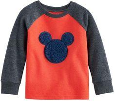 a3fcb689 Disneyjumping Beans Disney's Mickey Mouse Baby Boy Sherpa Graphic Raglan  Top by Jumping Beans #raglan