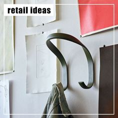 Retail ideas!.... you don't always need to go custom - sometimes great retail solutions are a combination of custom and off-the-shelf items!... Like this gorgeous hook from @haydesign would this not be a great solution for fitting room hooks?.... or even a way to display product within the store!... . item: HOOK from @haydesign  image sourced from: http://hay.dk/ms-my . . . #hook #displayhook #hay #retail #retaildesign #retailmelbourne #retailaustralia #retailjoinery #display…