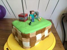Minecraft cake 3 layers