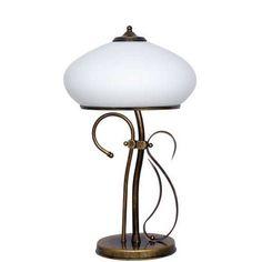Klassische Tischlampe 2x40W/E14 Patyna VIII 493B1 Aldex