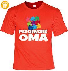 Geschenk für Oma T-Shirt Patchwork Oma T-Shirt für Oma Geschenkidee für Großmutter Geburtstagsgeschenk Oma Shirt für Omi (*Partner-Link)