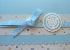 "I liked this ribbon, so I designed the cards around it - added the ""just because"" to finish it off..."