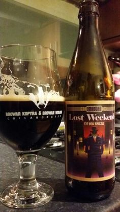 Browar Raduga Lost Weekend Rye India Black Ale #craftbeer #realale #ale #beer…