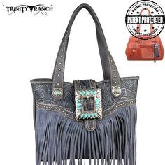 Concealed Handgun Handbag - Trinity Ranch Collection - TR30G-8014