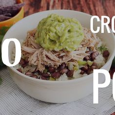crock pot recipes Crock Pot Mojo Pork with Cuban-Style Black Beans is a simple and satisfying long-cooking crock pot meal. Use to make tacos, nachos, or rice bowls! Recipes Using Pork, Pork Sausage Recipes, Mexican Food Recipes, Crockpot Recipes, Real Food Recipes, Cooking Recipes, Simple Crock Pot Recipes, Crock Pot Tacos, Crock Pot Beans