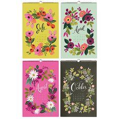 Rifle Paper Co. garden calendar 2014