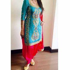 Ghnt punjabi suit Indian Suits Punjabi, Punjabi Girls, Punjabi Dress, Red Lehenga, Party Wear Lehenga, Anarkali, Bollywood Outfits, Bollywood Fashion, Punjabi Fashion