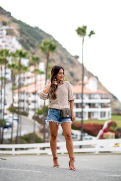 Styling Summer Sweaters