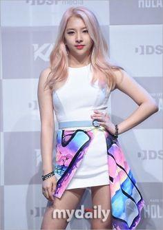 KARD - Jiwoo at the 'Hola Hola' debut conference