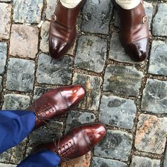 Gentlemen Wear This — Take good care of your shoes by polishing them,...