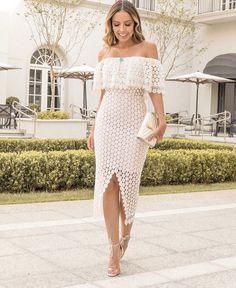 e5a5cfb27 19 melhores imagens de vestido guipir em 2019 | Moda mulhere ...