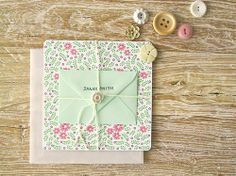Once Wed features this adorable tutorial on how to make your own bridesmaid thank you cards by Amy Moss. I love the sweet handmade touch of these cards, Diy Cards Thank You, Bridesmaid Thank You Cards, Your Cards, Pretty Cards, Cute Cards, Diy Wedding Projects, Wedding Ideas, Wedding Blog, Wedding Stuff