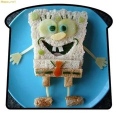 Sponge Bob Sandwich