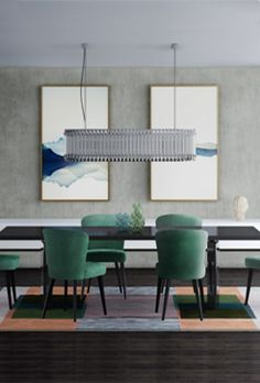 Get To Know Everything About This Minimalist Dining Room Decor! Elegant Home Decor, Luxury Home Decor, Home Decor Trends, Modern Dining Room Lighting, Minimalist Dining Room, Home Interior, Luxury Interior, Contemporary Interior, Bathroom Interior