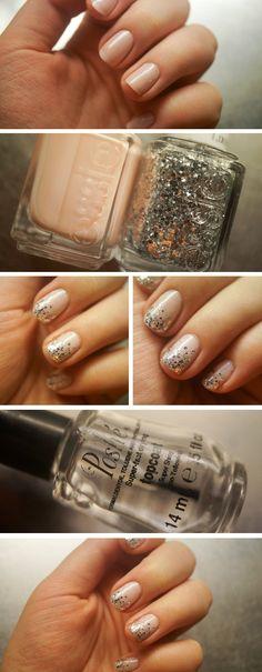 Nail tutorial: glitter tips - Saara Sarvas | Lily.fi