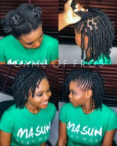 Protective Hairstyles 831406781192309925 - L'image contient peut-être : 2 personnes, texte Source by armellemenou Protective Hairstyles For Natural Hair, Natural Hair Braids, Braids For Black Hair, Natural Twist Hairstyles, Short Twists Natural Hair, Natural Hair Twist Styles, Flat Twist Styles, Flat Twist Updo, Kid Braid Styles