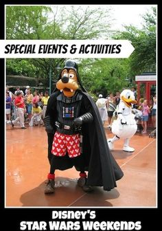 Star Wars Weekends Special Events and Activities #DisneyWorld #StarWarsWeekends