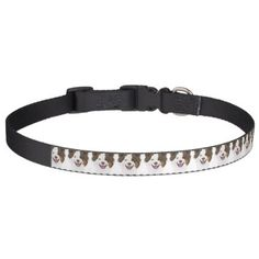 #Illustration happy dogs face Border Collie Pet Collar - #petcollar #petcollars #puppy #dog #dogs #pet #pets #cute #doggie #dogcollar #dogcollars