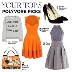 Your Top 5 Polyvore Picks, created by polyvore-editorial on Polyvore