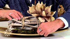 Tray opmaken met foambloemen en natuurlijke materialen met Romeo Sommers
