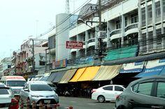 Non Mon market in Bangsaen