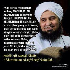Kata Mutiara Habib Ali Zaenal Abidin Al Jufri