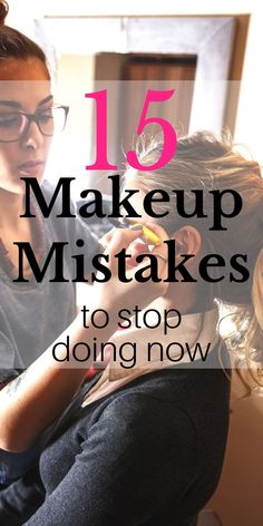 How to fix the most common makeup mistakes. I had no idea that I was walking around with a dirty face?