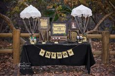 Army/Camouflage Birthday Party Ideas | Photo 2 of 21 | Catch My Party