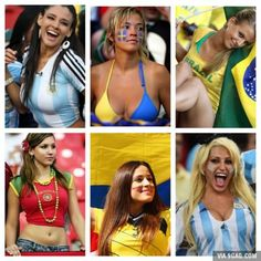 The World Cup? Oh yeah, I love the World Cup...
