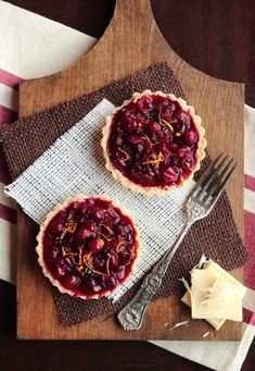Pastry Affair   Cranberry White Chocolate Tarts