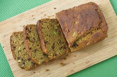 Oven Love: Whole Wheat Avocado Banana Bread - Ours was a bit underdone and it was still delicious. I think it could have been good with about half the amount of chocolate chips suggested. It's so rare to find 100% whole wheat recipes that taste this good!