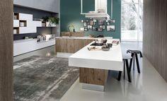Eko line. Modern kitchen design European cabinets style
