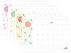 Buscando um planner mensal super fofo e em português? Sua busca acabou! O planner 2015 do NMMF é perfeito!
