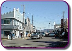 Old Town Florence Oregon, home to some of the best salt water taffy ever!