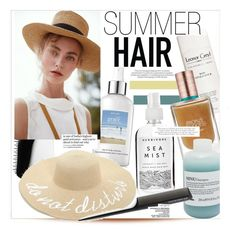 """""""Summer Hair"""" by kusja ❤ liked on Polyvore featuring beauty, philosophy, Leonor Greyl, Tangle Teezer, Estée Lauder, Boohoo, Davines, Herbivore, GHD and Retrò"""