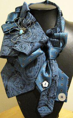 I wonder if my mom has any of my dad's ties still???