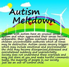 I am truly unsure with the thinking of always aiming this at young children it makes it sound like Autistic Adults do not exist and/or have these same problems. It makes people think this is only a childhood problem and not a LIFE disorder. We need to shift the thinking with all neurological disorders!