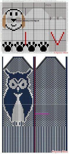 Схемы детских жаккардовых рукавичек. - МИР В МОИХ РУКАХ! - Страна Мам | вязание(жаккард,вышивка) | Постила Knitting Charts, Baby Knitting, Knitting Patterns, Knitted Mittens Pattern, Knit Mittens, Animals Images, My Design, Gloves, Kids Rugs