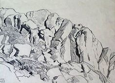 how to draw rocks and cliffs - Cerca con Google