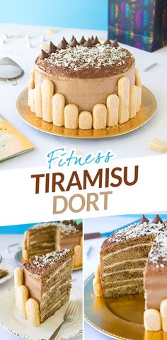 Fitness tiramisu dort vhodný na narozeniny - fit dietní zdravý top recept na hubnutí nejen pro fitness / Fitness tiramisu birthday cake - fit healthy top recipe for weight loss Healthy Sweets, Healthy Baking, Tiramisu, Cake Recipes, Sweet Tooth, Cheesecake, Birthday Cake, Fitness, Food And Drink