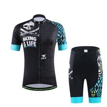 US $71.44 Women Short Sleeve 100% Polyester Cycling Jersey Sets Summer MTB Bicycle Clothes Ropa Maillot Ciclismo Bike Wear Clothing Set. Aliexpress product