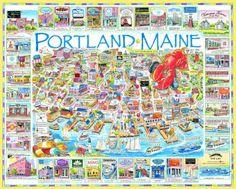 Portland, ME (cool city)