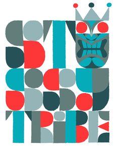 Adrian Johnson Studio Ltd. > Work Stüssy : Tribe