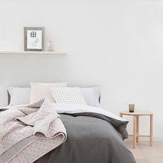 Scandinavian Style Bedroom.