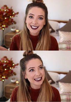 Autumn makeup look - zoella