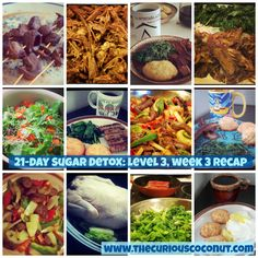 My husband and I have successfully completed our first official Sugar Detox! In this post, I detail week reflect on the experience, and discuss what I plan to do now. 21 Day Detox, 7 Day Sugar Detox, Sugar Detox Plan, Detox Meal Plan, Sugar Detox Recipes, Detox Week, Sugar Detox Diet, Detox Meals, Detox Foods