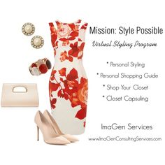 Mission: Style Possible by genellebeyer on Polyvore featuring Karen Millen, Gianvito Rossi, Forever New, Kate Spade and Erica Lyons