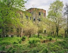 See the Ruins of Abandoned North Brother Island As Captured By a Drone Abandoned Buildings, Abandoned Places, Abandoned Mansions, Homes For Veterans, Places In New York, Angkor Wat, Ghost Towns, Chernobyl, Roller Coaster